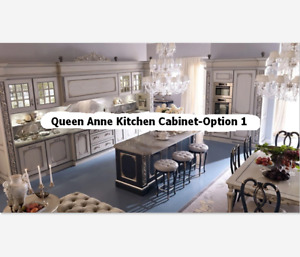 Luxury Custom Made Kitchen Cabinet Set-6 Different Styles-Home, Apartment, Hotel