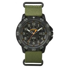 Timex TW4B03600 Mens Expedition Gallatin Green Nylon Strap Watch RRP £49.99