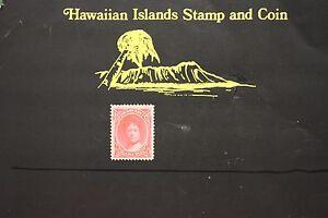 145 HAWAII #49 UNUSED ISSUED 1883 QUEEN EMMA
