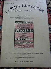 LA PETITE ILLUSTRATION N°26 23 août 1913 Old french literary & theater review