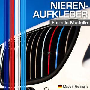 Nierenaufkleber für BMW Autos Dunkelblau/Rot/Weiß/Hellblau Nieren Aufkleber