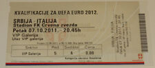 Ticket for collectors EURO q * Serbia Italy 2011 in Beograd