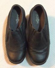 "Women's Z-COIL ""Taos"" Pain Relief Footwear Black Leather Shoes 6 US (36.5 EU)"