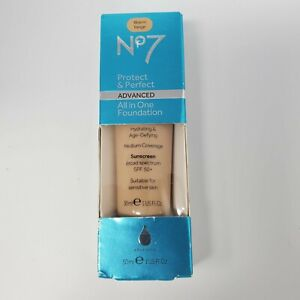 No7 Foundation Protect Perfect All In One Foundation Choose Shade Makeup SPF 50
