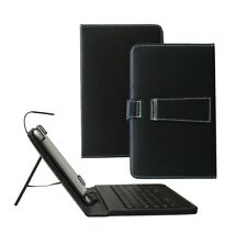 PU Leather Case with Keyboard for Samsung Galaxy Tab A 7 inch with Micro USB