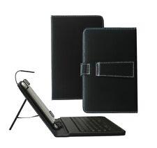 Cuero PU Estuche Con Teclado Para Tablet ASUS Google Nexus 7 Con Micro Usb