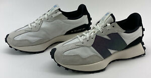 New Balance 327 Womens Size 9 B White Iridescent Casual Lifestyle Sneakers Shoes
