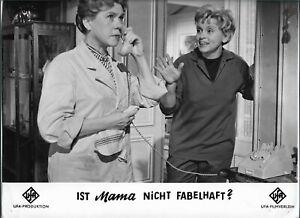 11 x 9 Original Photo Luise Ullrich dans Un Ist Maman Pas Fabelhaft ?
