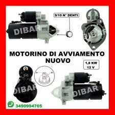 MOTORINO DI AVVIAMENTO NUOVO AUDI A4 1.9 TDI DAL 2000 KW85 CV116  AJM  22