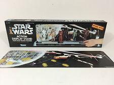 Nuevo Star Wars Soporte de Exhibición Caja y telón de fondo