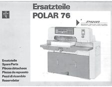 Polar   76 EM  and SD-P Pasrts Manual (111)