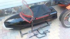Beiwagen Seitenwagenboot Pannonia Duna Sidecar BMW JAWA Harley Honda URAL