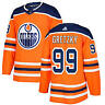 Wayne Gretzky #99 Edmonton Oilers Orange Classic Throwback Hockey Jersey