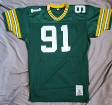 Brian Noble Green Bay Packers Team Issued Game Sand Knit Jersey