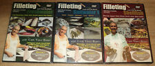 New listing 3 Fishing Filleting Fileting Dvds Vince Russo Freshwater Saltwater 1 Shellfish