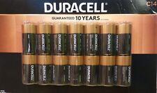 (14) Duracell Coppertop Alkaline C Batteries - NIP