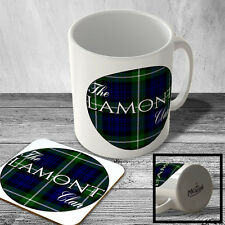 MAC_CLAN_424 The LAMONT Clan (Lamont Modern Tartan) (circle background) - Scotti