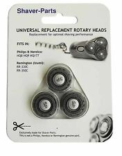 Heads replacement philips HQ8, HQ9, HQ177 Remington philips 1000 3000 S1 S3