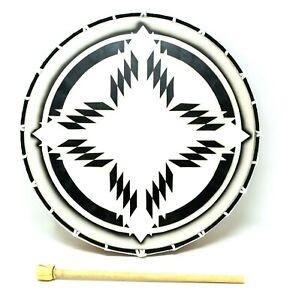 Tibetanische  Schamanentrommel  Bodhran handgefertigt 40 x 7 cm