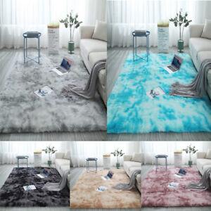 Flauschige Langflor Soft Anti-Rutsch Shaggy Teppich Hochflor Läufer Wohnzimmer