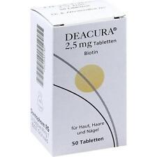 DEACURA 2.5MG Tabletten 50St DERMAPHARM 0451487