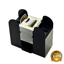Casino 6-Deck Automatic Card Shuffler Battery Operated Professional Poker Games