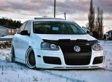 Car Bonnet Hood Bra + R LOGO Fits VW Volkswagen Jetta 5 V MK5 R32 06 07 08 09