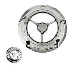 Clarity Derby Cover & Timing Cover For Harley Touring 2016 2017 2018 All Chrome
