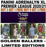 PANINI PREMIER LEAGUE 2020/21 ADRENALYN XL - LIMITED/ GOLDEN BALLERS/ INVINCIBLE