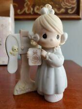 """""""Sharing The Good News Together""""–1991 Precious Moments Collector'S Club Figurine"""