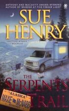 The Serpents Trail by Sue Henry *#1 Maxie and Stretch (2005, PB) Comb ship avail