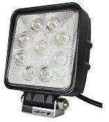 48W Cuadrado 16 LED 10V/30V niebla de trabajo 9 LED Spot Luz Lámpara Off-Road