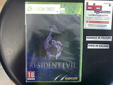 RESIDENT EVIL 6 XBOX 360 PAL NUOVO SIGILLATO