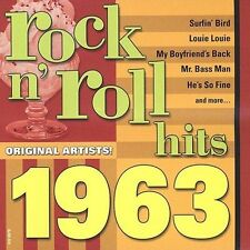 Rock N' Roll Hits: Golden 1963 by Various Artists (CD, May-2002, Madacy)