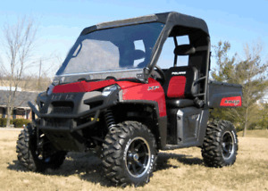 Mini Enclosure for Polaris Ranger 400 - HARD WINDSHIELD, ROOF, and REAR WINDOW