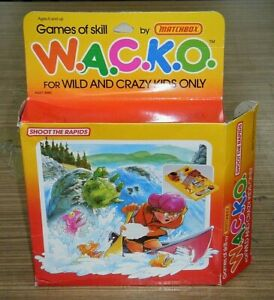 Vintage Boxed 1988 Matchbox WACKO / W.A.C.K.O. Skill Game - Shoot The Rapids