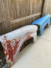 OEM 1958 1959 Chevy Pickup Truck Rust Free Front Fender Pair Originals Apache