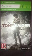 TOMB RAIDER XBOX 360 download digitale-Versione Nuovo di Zecca 2013