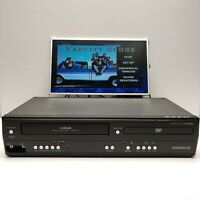 Magnavox DV220MW9 4 HEAD VHS VCR DVD Combo Player Fully Tested Working No Remote
