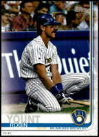 Robin Yount 2019 Topps Update Variations 5x7 #US168 /49 Brewers