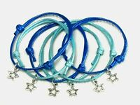 6 STAR FRIENDSHIP BRACELETS GALAXY SPACE PARTY BAG FILLERS FAVORS GIFTS BOYS
