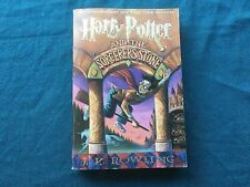 Harry Potter and the Sorcerer's Stone, J. K. Rowling 1st ed/1st Print Paperback