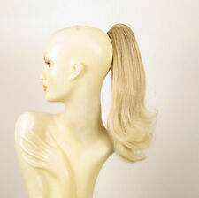 Haarteil Pferdeschwanz hellblonde Docht blonde klar Frau 40 cm ref 8 in 15t613