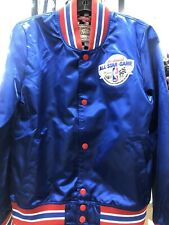 Mitchell & Ness NBA ALL STAR Game 35th Ann 1985 Women's Satin Jacket Size Small