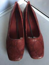 Easy Spirit Snake Print Alinda Red  Flats Size 10M- NEW No Box