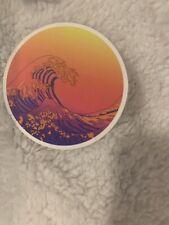 Summer Surfing Sticker Wave