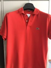 mens lacoste polo shirt size 4