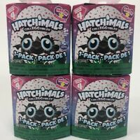Lot of 4 Hatchimals CollEGGtibles Season 4 Hatch Bright Mystery 1-Pack