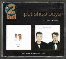 Pet Shop Boys - Please / Actually **Super Rare 1996 Australian 2 CD Set**GC