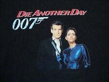 Vintage James Bond Die Another Day 007 Movie Promo Hollywood Video T Shirt 2XL